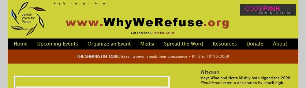 Why We Refuse